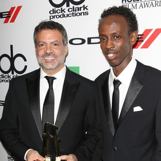 Michael De Luca, Barkhad Abdi in The 17th Annual Hollywood Film Awards