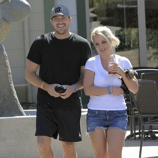 David Lucado, Britney Spears in David Lucado and Britney Spears Out and About