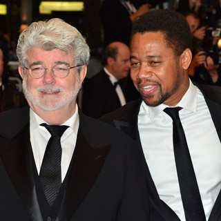 George Lucas, Cuba Gooding Jr. in Cosmopolis Premiere - During The 65th Annual Cannes Film Festival
