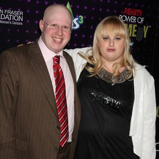 Matt Lucas, Rebel Wilson in Variety's Power of Comedy Presented by Sims 3 in Partnership with Bing