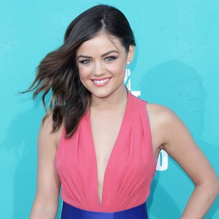Lucy Hale in 2012 MTV Movie Awards - Arrivals