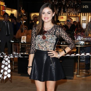 Lucy Hale in The Grand Opening of Henri Bendel