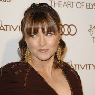 Lucy Lawless in 2012 Art of Elysium Heaven Gala - Arrivals