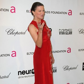 Lucy Lawless in 21st Annual Elton John AIDS Foundation's Oscar Viewing Party