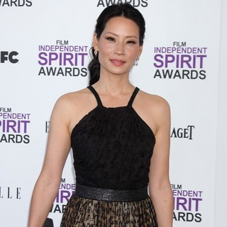 Lucy Liu in 27th Annual Independent Spirit Awards - Arrivals
