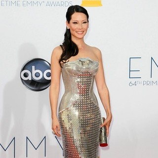 Lucy Liu in 64th Annual Primetime Emmy Awards - Arrivals