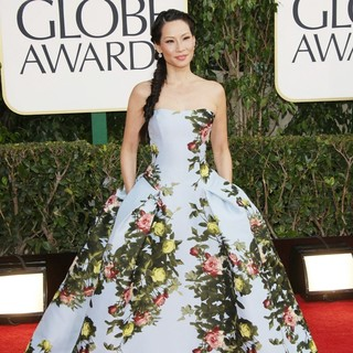 Lucy Liu in 70th Annual Golden Globe Awards - Arrivals