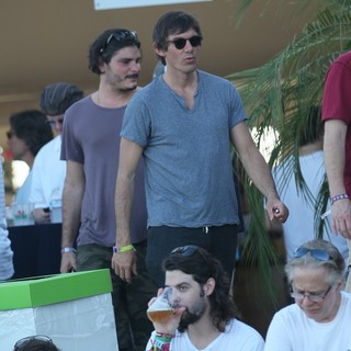 Lukas Haas in Celebrities at The 2012 Coachella Valley Music and Arts Festival - Week 2 Day 1