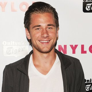 Luke Benward in NYLON Magazine Young Hollywood Party with May Cover Star Chloe Moretz