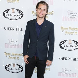 Luke Benward in Ryan Newman's Glitz and Glam Sweet 16 Birthday Party