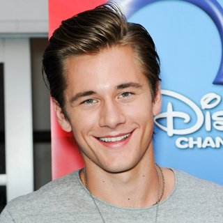 Luke Benward in Screening of Disney's Girl vs. Monster