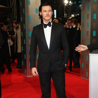Luke Evans in EE British Academy Film Awards 2014 - Arrivals