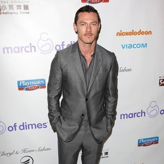Luke Evans in March of Dimes Celebration of Babies Luncheon - Arrivals