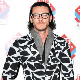 Luke Evans in The NME Awards 2014 - Arrivals