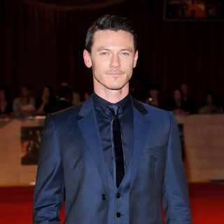 Luke Evans in The Three Musketeers Film Premiere - Arrivals