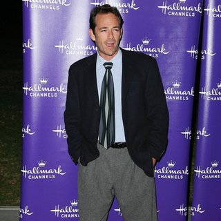 Luke Perry in Hallmark Channel's Premiere Evening Gala Winter 2011 TCA Press Tour
