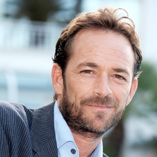 Luke Perry in 2010 MIPCOM - Goodnight for Justice - Photocall