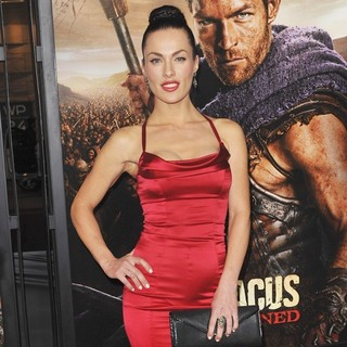 Luna Rioumina in U.S. Premiere Screening of Spartacus: War of the Damned