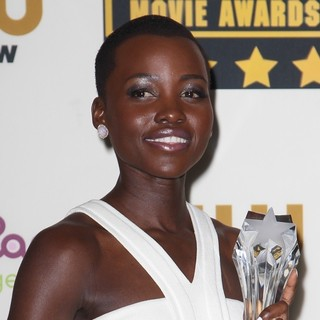 Lupita Nyong'o in The 19th Annual Critics' Choice Awards - Press Room