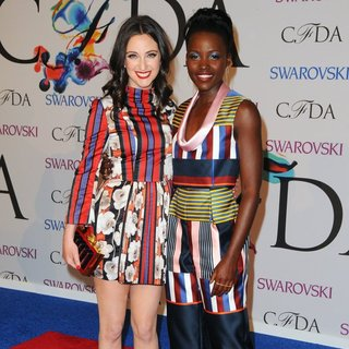Lupita Nyong'o in 2014 CFDA Fashion Awards - Red Carpet Arrivals