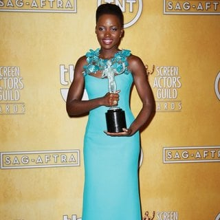 Lupita Nyong'o in The 20th Annual Screen Actors Guild Awards - Press Room