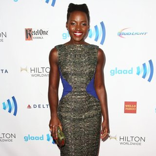 Lupita Nyong'o in 25th Annual GLAAD Media Awards