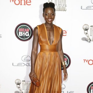 Lupita Nyong'o in 45th NAACP Image Awards - Arrivals