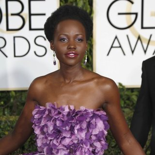 Lupita Nyong'o in 72nd Annual Golden Globe Awards - Arrivals
