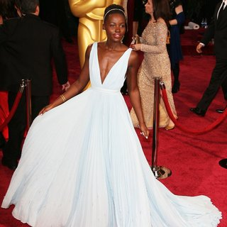 Lupita Nyong'o in The 86th Annual Oscars - Red Carpet Arrivals