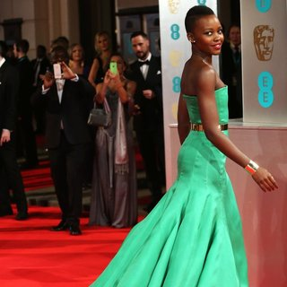 Lupita Nyong'o in EE British Academy Film Awards 2014 - Arrivals