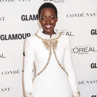 Lupita Nyong'o in Glamour Woman of The Year Awards 2014