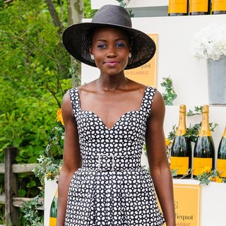 Lupita Nyong'o in The Seventh Annual Veuve Clicquot Polo Classic