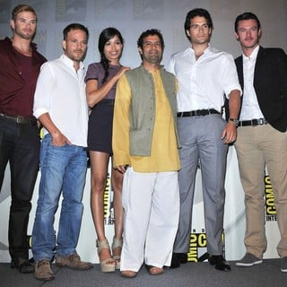 Kellan Lutz, Stephen Dorff, Freida Pinto, Tarsem Singh, Henry Cavill, Luke Evans in Comic Con 2011 - Celebrities at The Convention Centre - The Immortals Panel