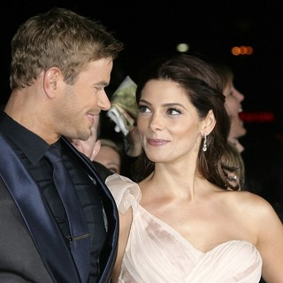 Kellan Lutz, Ashley Greene in The Premiere of The Twilight Saga's Breaking Dawn Part II