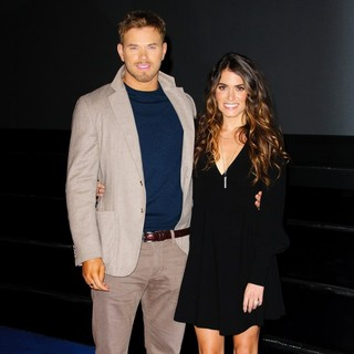 Kellan Lutz, Nikki Reed in The Twilight Saga's Breaking Dawn Part II Photocall