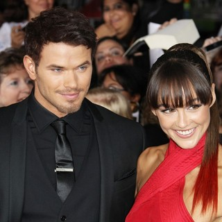 Kellan Lutz, Sharni Vinson in The Twilight Saga's Breaking Dawn Part I World Premiere