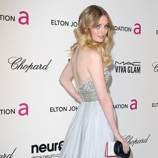 Lydia Hearst in 21st Annual Elton John AIDS Foundation's Oscar Viewing Party
