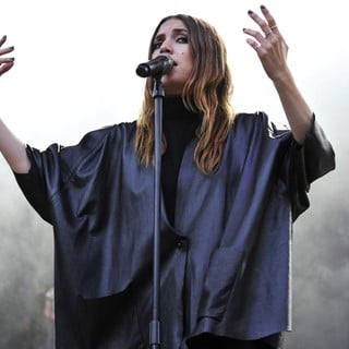 Lykke Li in Day Two at Lollapalooza