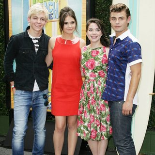 Ross Lynch, Maia Mitchell, Grace Phipps, Garrett Clayton in Disney Channel's Teen Beach Movie Event