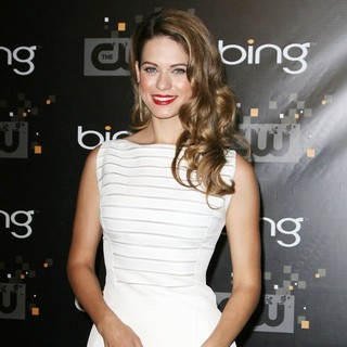 Lyndsy Fonseca in The CW's Premiere Party