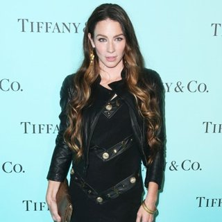 Lynn Collins in Tiffany and Co. Celebrates The Unveiling of Their Renovated Beverly Hills Store