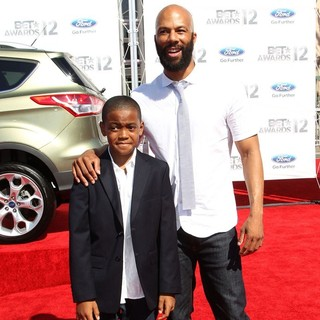 Lonnie Rashid Lynn, Common in The BET Awards 2012 - Arrivals