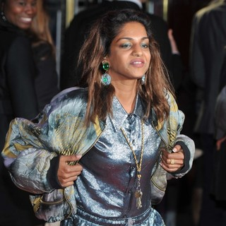 M.I.A. in The BFI London Film Festival - W.E. - Gala Screening - Arrivals