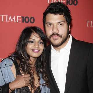 M.I.A., Benjamin Bronfman in Time's 100 Most Influential People in The World Gala - Inside Arrivals