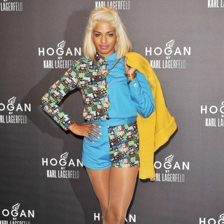M.I.A. in Paris Fashion Week Fall-Winter Ready to Wear 2012 - Hogan by Karl Lagerfeld - Party Arrivals