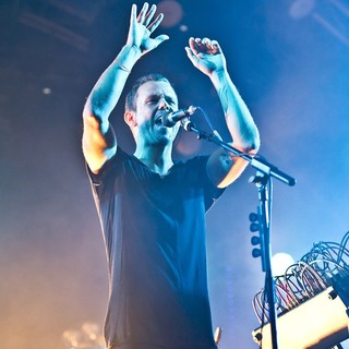 Anthony Gonzalez, M83 in M83 Performing Live