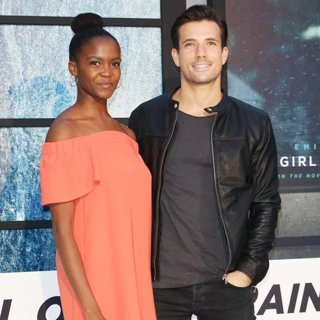 Oti Mabuse, Danny Mac-The World Premiere of The Girl on the Train - Arrivals