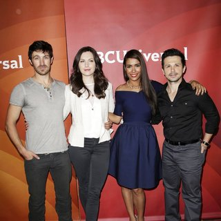 Eoin Macken, Jill Flint, Daniella Alonso, Freddy Rodriguez in 2014 NBC-Universal's Summer Press Day - Arrivals