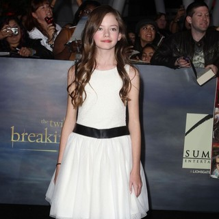 Mackenzie Foy in The Premiere of The Twilight Saga's Breaking Dawn Part II