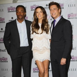 Anthony Mackie, Kate Beckinsale, Sean McManus in Piaget at The 2012 Film Independent Spirit Awards Nominations Press Conference